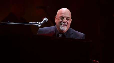 Billy Joel performs during his 100th show at