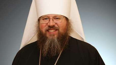This photo released by the Orthodox Church in