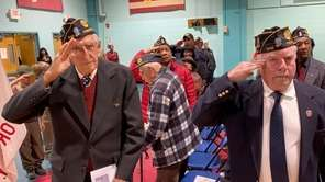 The Freeport Veterans Day commemoration on Monday observed