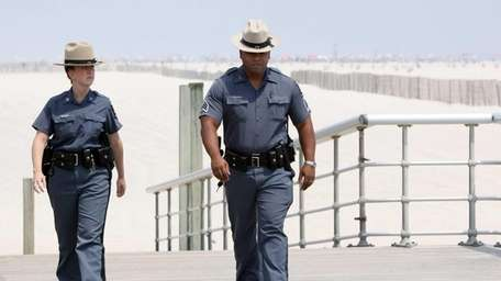 New York State Park Police Sgt. Mark Sanchez,