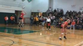 South Side defeated Lynbrook, 25-21, 25-20, 23-25, 25-17,