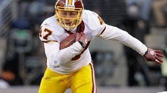 GIANTS AT REDSKINS Redskins tight end Chris Cooley