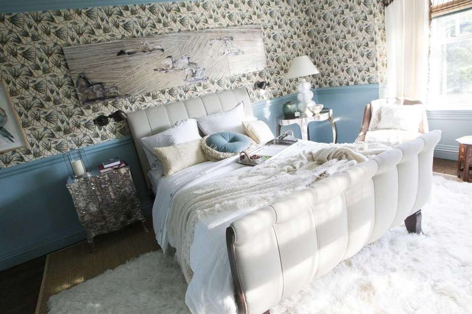 Katie Leeds designed this bedroom for the 2012