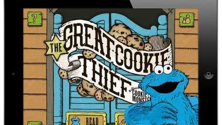 The Great Cookie Thief app for the iPhone