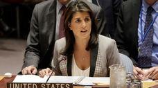 United States Ambassador to the United Nations Nikki