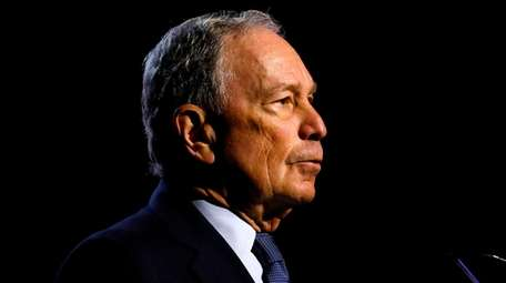 Michael Bloomberg on July 24 at the NAACP's