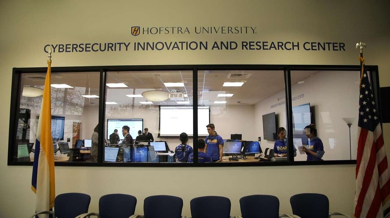 Hofstra University premiered its new state-of-the-art Cybersecurity Innovation