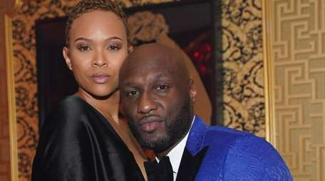 Sabrina Parr and Lamar Odom attend Ladies Love