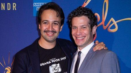 "Lin-Manuel Miranda and ""Hamilton"" director Thomas Kail are"