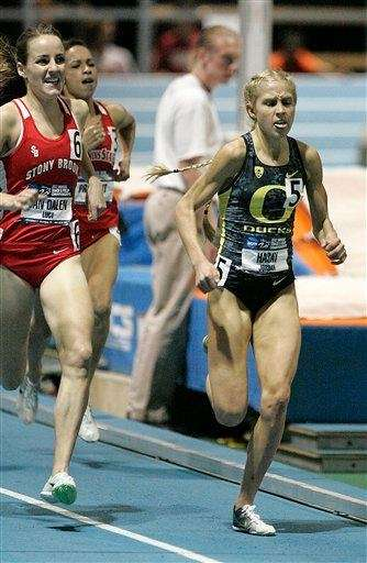 LUCY VAN DALEN New Zealand Six-time All-American at