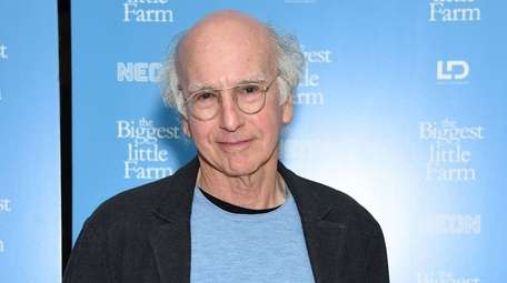 "Larry David attends ""The Biggest Little Farm"""