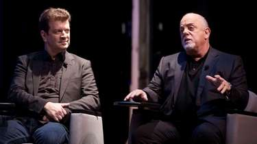 Billy Joel, speaking at Long Island High School