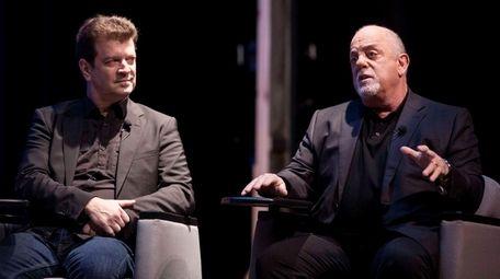 Billy Joel, speaking at Long Island High School