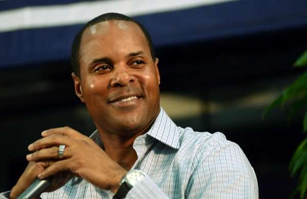 National Baseball Hall of Fame inductee Barry Larkin