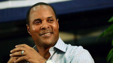 National Baseball Hall of Fame inductee Barry Larkin