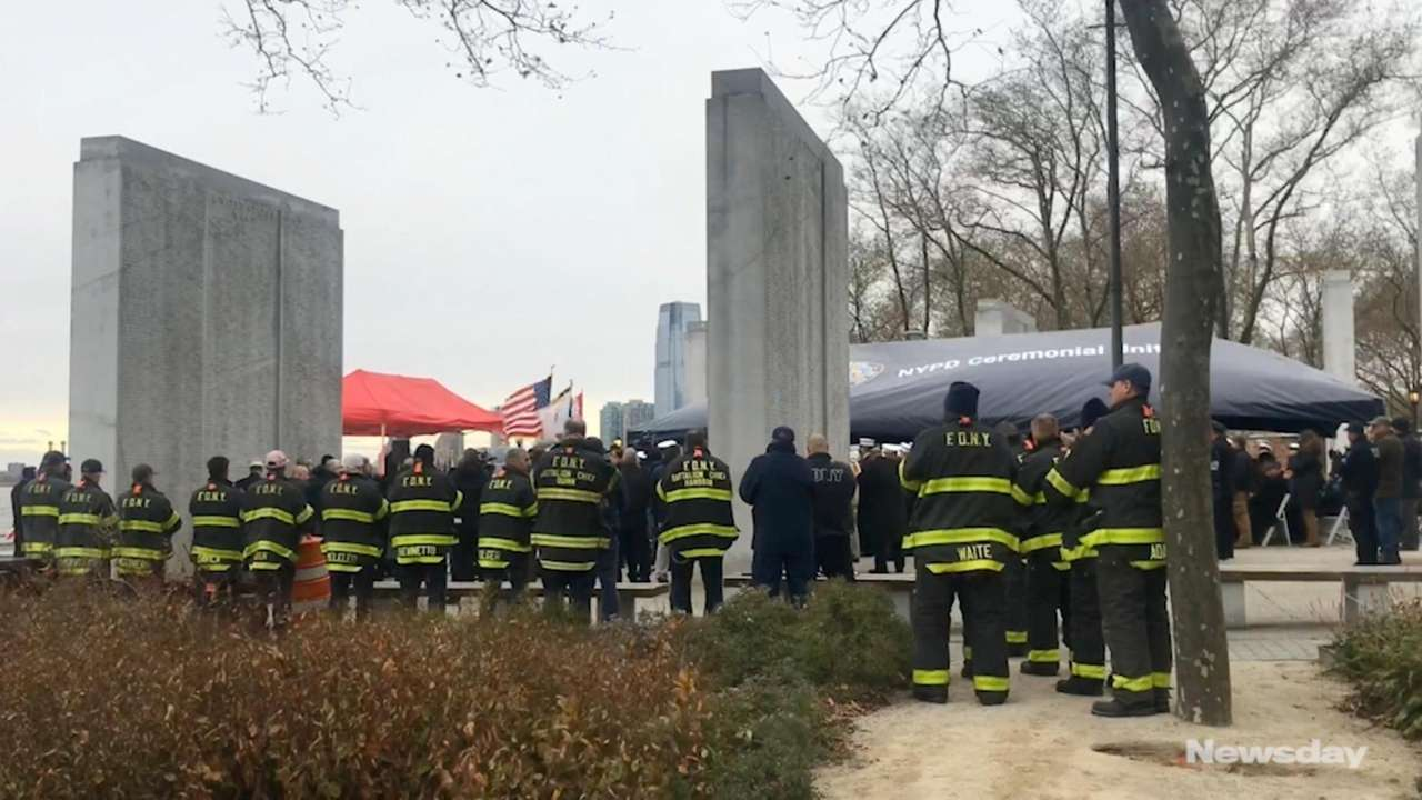 On Tuesday, the Coast Guard honored Vincent G.