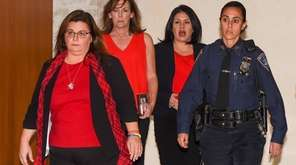Opening arguments began in Riverhead on Tuesday in