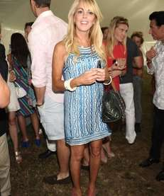 Dina Lohan, mother of actress Lindsay Lohan, attends