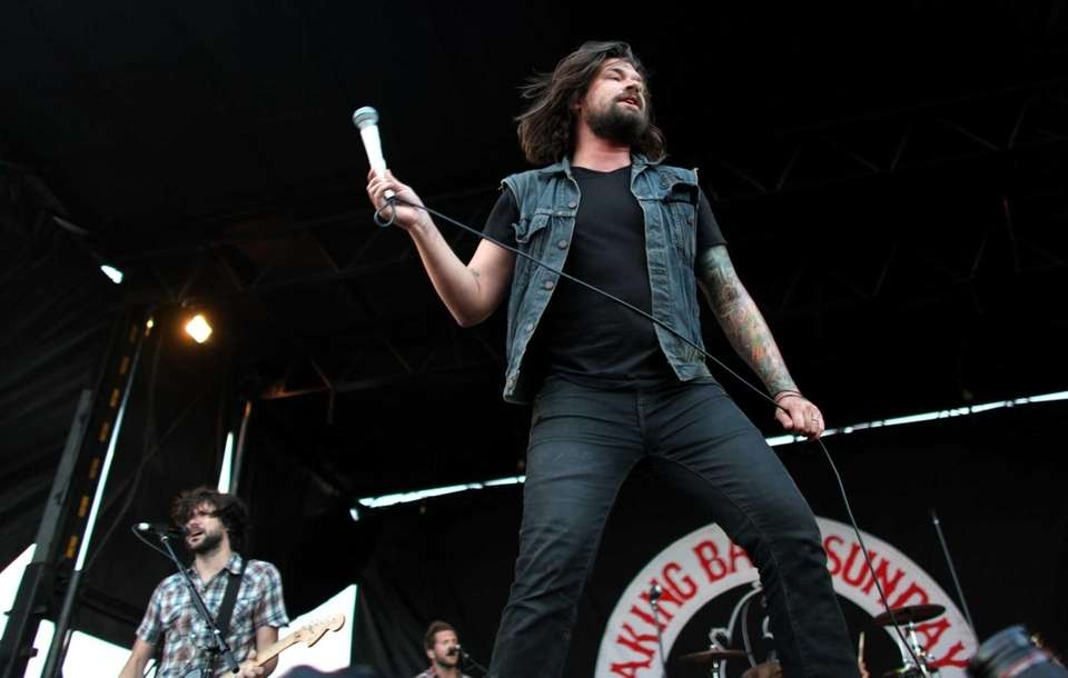 Taking Back Sunday performs Saturday during Vans Warped