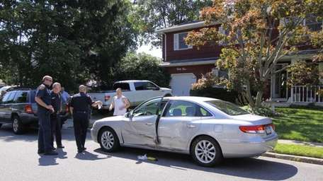 A woman was seriously injured in an apparent