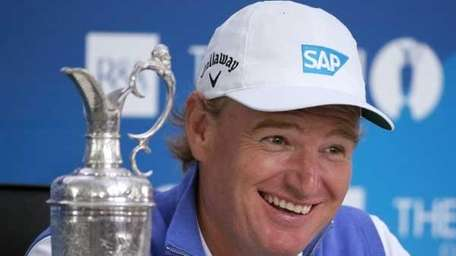 New Open Champion Ernie Els of South Africa