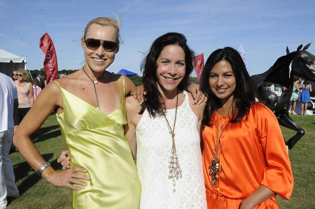 Helen Gifford, Michelle Farmer and Monica Chandra attend