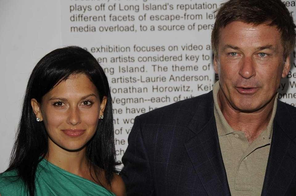 Actor Alec Baldwin and his wife, Hilaria Thomas,