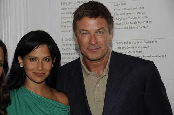 Actor Alec Baldwin and his wife, Hilaria Thomas,