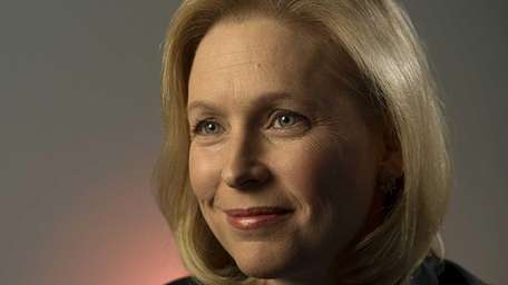 Democratic US Senator Kristen Gillibrand at her office