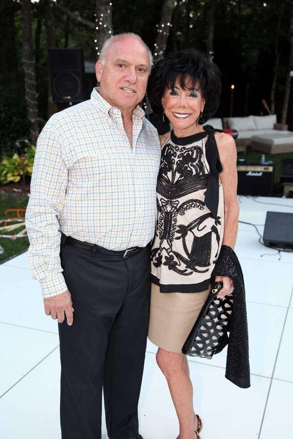 David Feinsod and Carole Feinsod attend the Hamptons