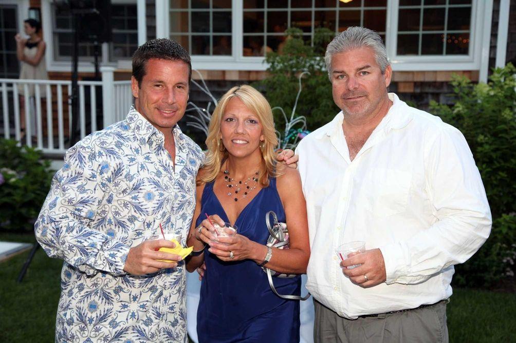 Michael Armato, Lisa Sanders and Chuck Sanders attend