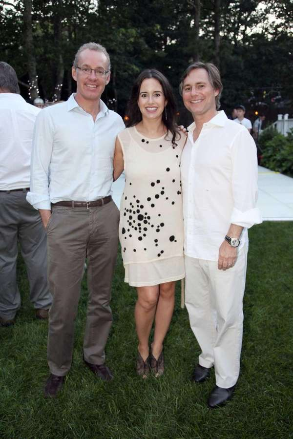 Kevin Ryan, Haley Binn, and Jason Binn attend