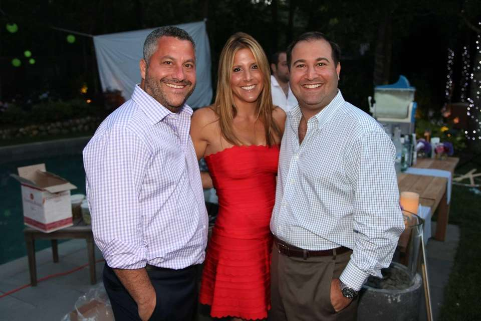Dorone Farber, Jennifer Farber, and Doug Lehman attend