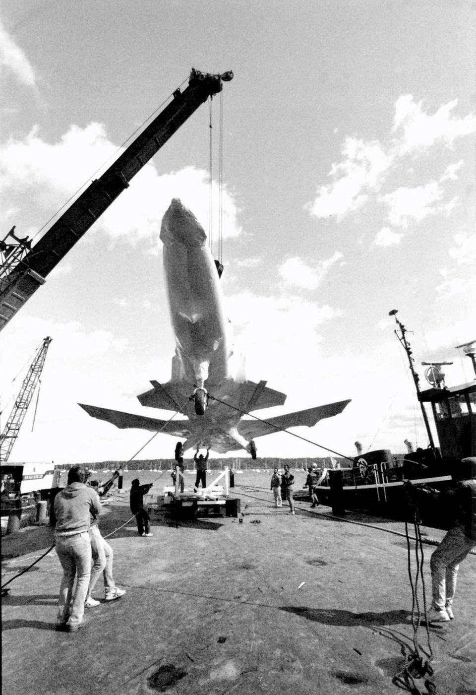 October 11, 1988: Grumman Corp. ships the second