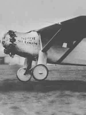 Charles Lindbergh lifted off at 7:52 a.m. from