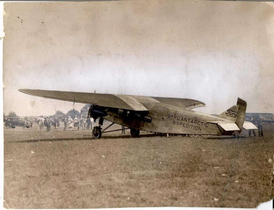 June 25, 1928: Admiral Byrd's South Pole plane