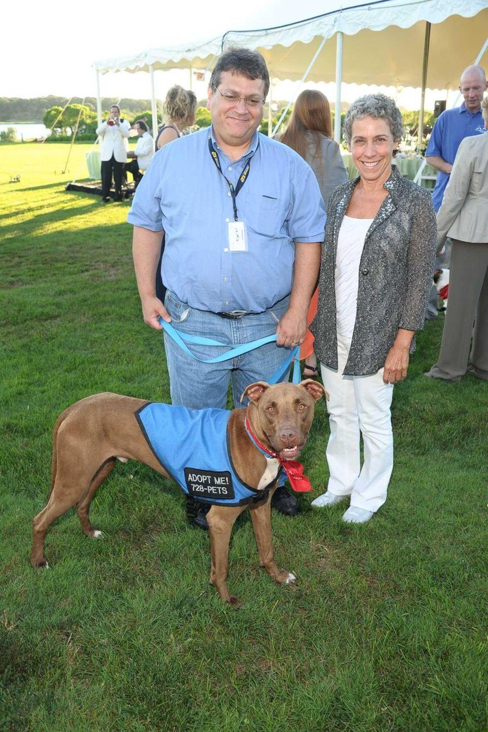 Mark Ambrico, Smokey the dog and Dorothy Frankel