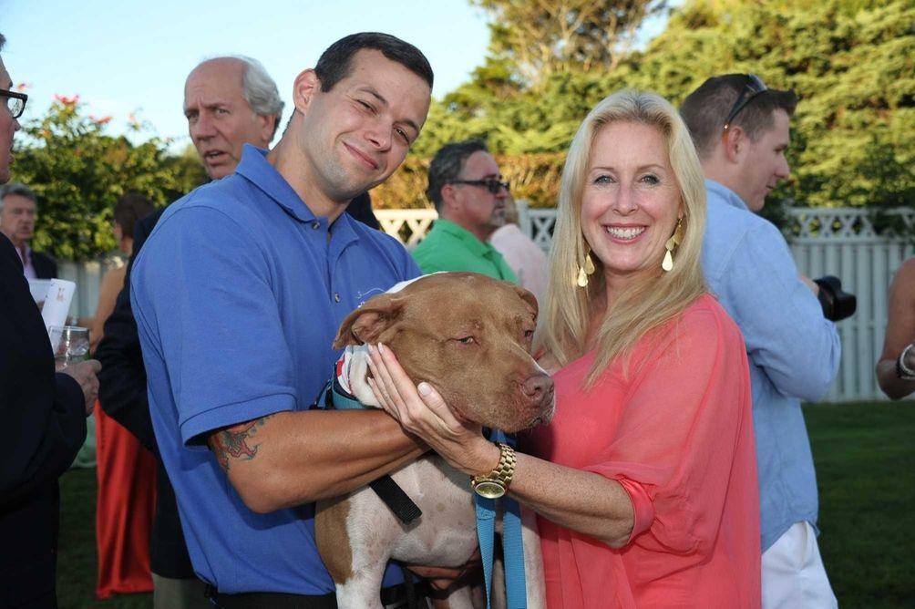 Matt Valentino, Summer the dog, and Aniik Libby