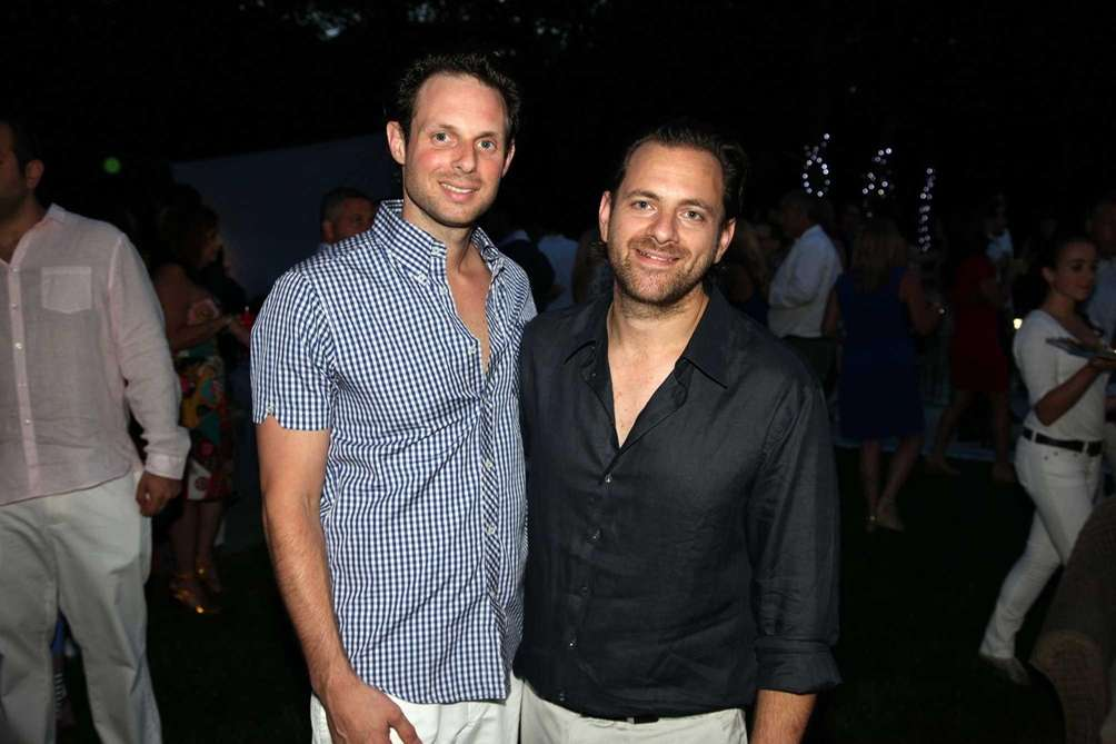 Joseph and Josh Glazer host the Hamptons Gala