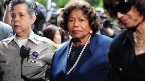 Katherine Jackson, center, the late Michael Jackson's mother,