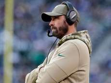 Jets coach Adam Gase looks on during the