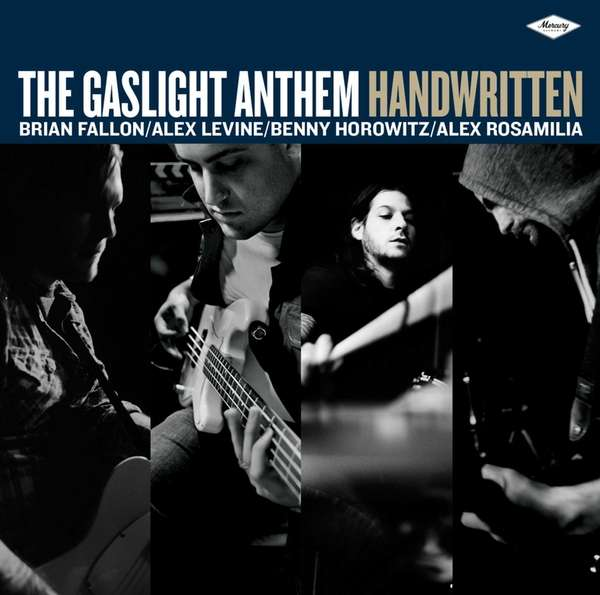 "The CD cover of The Gaslight Anthem's ""Handwritten."""