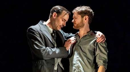 Paul Hilton, left, and Kyle Soller star in
