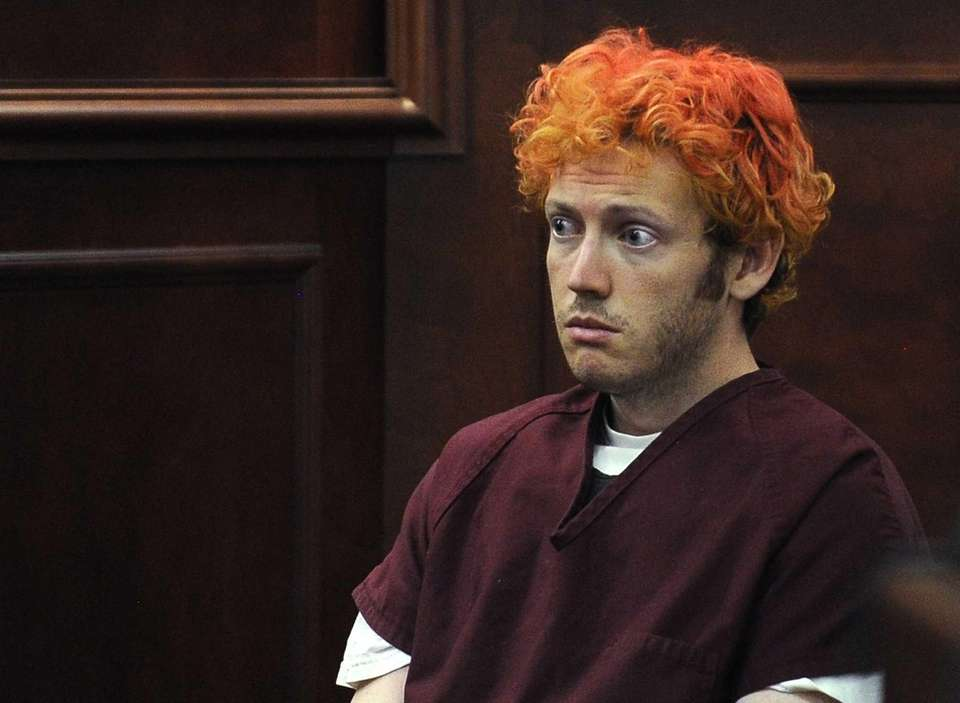 James Holmes appears in Arapahoe County District Court