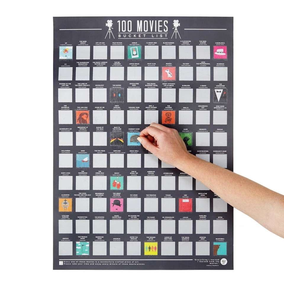 The movie fanatic in your life needs this