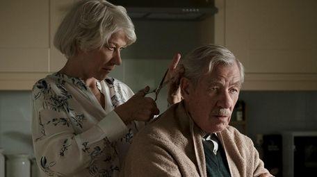 Helen  Mirren and Ian McKellen star in