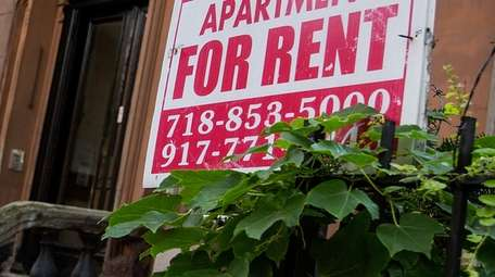 Residential rents jumped 2.9 percent last month compared