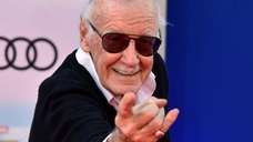 Stan Lee attends the 2017 premiere of