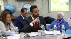 Representatives from schools across Long Island met at
