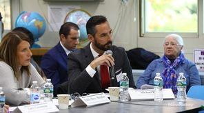 Representatives from schools across Long Island met at